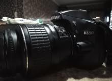 كاميرا نيكون 3200 دي جديدة استعمال منزلي بسيط جدا
