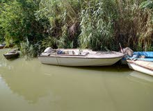 a Used Motorboats in Basra is up for sale