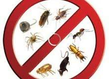 مكافحه الحشرات والصراصير والنمل