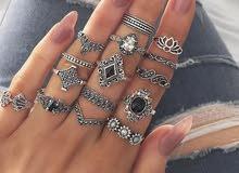 15 خاتم في طقم واحد