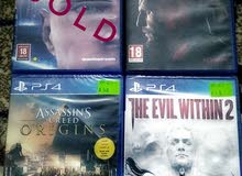 Brand new Ps4 games