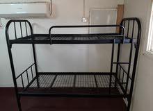سرير حديد 2 دور قوى ومتين للكبار