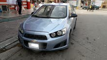 Chevrolet Sonic 2012 For sale - Silver color