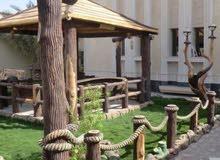 تصميم الحدائق والتشكيلات الاسمنتية