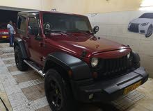 Jeep Wrangler 2012 For sale - Maroon color