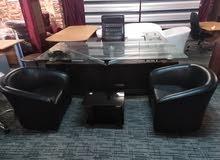 مكتب سيكوريت ملوكي فخم جدا شبه جديد وبسعر مغري جدا