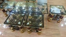 طرابيز زجاج فاخرة مستورد 5 قطع البيع جملة وقطاعي جديدة كرتونة السعر 5700 جنية