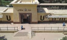 شقة 85م 3غرف سوبر لوكس امام محطة ابو قرقاص الشارع الرئيسي.
