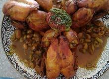 مطلوب طباخة طبخ مغربي وخليجي