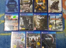 for sale used ps4 games