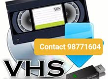 VHS Cassette Converter to Digital