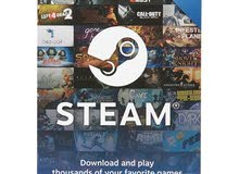 steam global gift  جميع فئات بطاقات ستيم