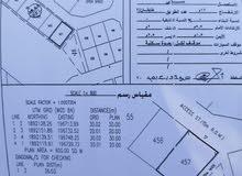 أرض للبيع في السعاده الشمالية مربع ح رقم 457 قريبه من محطة نفط عمان