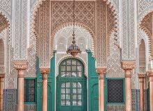 فن المعمار الاندلسي المغربي.. الجبس / الزليج / الديكور الحديث