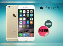 هاتف IPHONE 6 ذاكرة 64 عرض خاص من جوائز و ضمان بسعر مميز