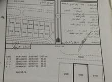 للبيع ارض سكنية ف المعبيلة الثامنه مساحة 600م موقع ممتاز اول خط مطلوب 40الف قابل
