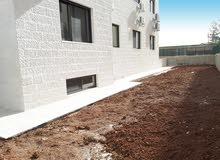 شقة ارضيه دوبلكس طابقيه للبيع مع حديقة 450 متر في عبدون