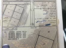 ارض للايجار في صناعيه بركاء جنب محطه نفط عمان مساحه 2000