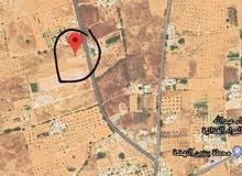 قطعة ارض مساحتها 2000م سعر المتر17د بي جفارة صبراتة الفتحلية