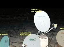 Dish antenna fixing & installation