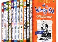 كتب The Diary of a Wimpy Kid