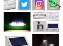 إضاءة سولار ليد الطاقة الشمسية LED