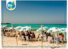 شاليهك في مطروح بشاطئ خاص بالابيض - قسط على 40 شهر