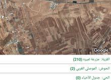 ارض للبيع في شرق جامعه العلوم والتكنولوجيا  وشرق السايبر سيتي حوض الموصلي الغربي