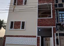 بيت للبيع 3 طوابق مساحة61 م