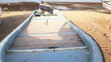 قارب مع مكينة للبيع