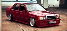 Gasoline Fuel/Power   Mercedes Benz E 190 1993