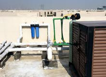 يتوفر لدينا جميع انواع فلاتر وأجهزة تحلية و تبريد المياه