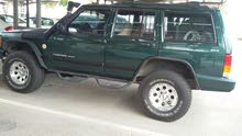 Green Jeep Cherokee 1999 for sale