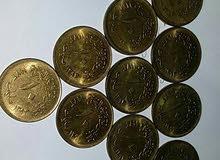 عشر مليمات النسر جديدة 1973