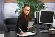 مطلوب مديرة مكتب  متفرغه لعمل لدى  شركة   في الصويفيه