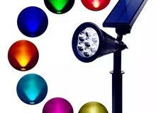 مصابيح زينة متعددة الالوان تعمل بالطاقة الشمسية 7 LED
