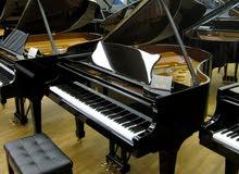 piano courses in english or arabic تعليم العزف علي البيانو