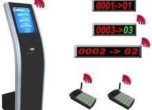 أجهزة ارقام صفوف الانتظار - اجهزة النداء الآلي