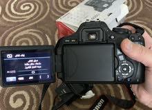 كاميرا كانون 600 D للبيع
