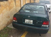Green Toyota Tercel 1998 for sale