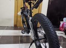 دراجه جبليه تنطوي وتتحمل أوزان ثقيله