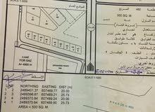 للبيع ارض تجاريه في محافظة الشرقيه المضيبي سناو