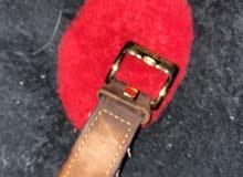 ساعة مونت بلانك اصليه.    لون الجلد بني  لون الساعه ابيض بني ذهبي