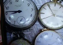 ساعات قديمة جدا للجيب ماركات مختلفة