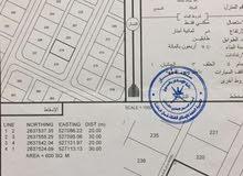 ارض 600م السويق/ خضراء بورشيد/ المرحلة 2 الجديد