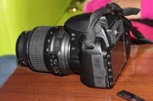 كاميرا نيكون d3100 معاها عستين استعمال نظيف