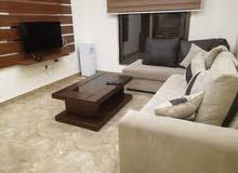 شقة راقية جدا للايجار السنوي في اجمل مناطق الدوار السابع مساحة الشقة110متر مربع، الطابق الاول