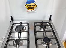 Cooking Stove with Full Safety Features