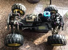 سيارة على الريموت للكبار تعمل على نايتروز RC car
