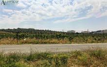 ارض للبيع في منطقة ابو نصير , مساحة الارض 2171م